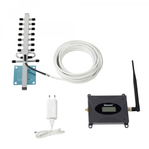 Усилитель сигнала Lintratek 2100 mHz (для 3G) 65 dBi, кабель 10 м., комплект